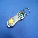[H824] 나침반 LED 달린 열쇠고리(키홀다)