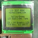 [P491] 128 x 64 그래픽 LCD 128GN12B-C-AE2H3