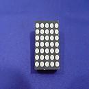 [T621] 삼광반도체 5 x 7 적색 도트매트릭스(2개)