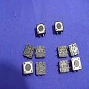 [X119] 12mm x 12mm x 4.1mm 보턴 택스위치(10개)