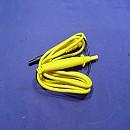 [X727B] BNC  바나나단자 달린 용도미상 계측기용 고급 프로브(노란색)