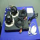 [Z719] 4채널 CCTV 녹화기 카메라 2대셋트 250G CDR420N