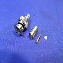 [A1243] AMPHENOL 31-71008-RFX 75Ω BNC CRIMP PLUG
