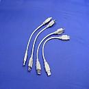 [A3797] 22cm USB 연장 케이블(4개)