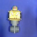 [A4663] 에어로 작동되는 밸브로 보이는 제품