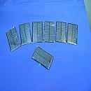 [A6653] 6V 100mA 태양전지 7개일괄