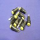 [A7129B] 12파이 노란색 원형 푸쉬스위치 PBS-27B(10개)