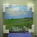 [A8172] 풍경사진 알루미늄액자750cm*500cm*20cm