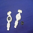 [A8774] iPhone USB 케이블 잭(2개)