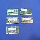 [B1261] 1GB 노트북램 5개 일괄