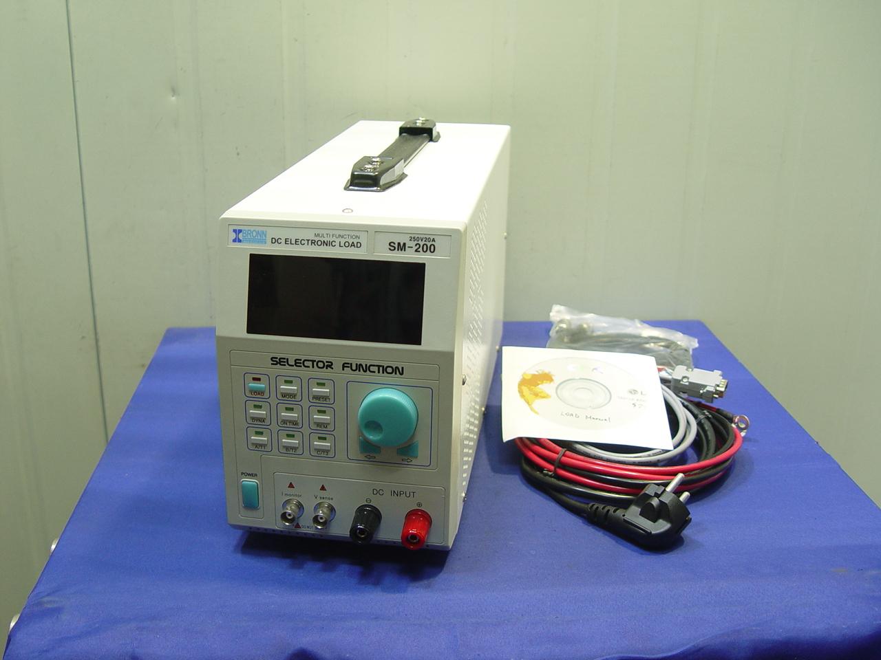 [B1869] 전자로드 SM-200 250V 20A 200W LOAD
