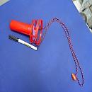[R417] 휴대용 목걸이 선풍기(1.5V건전지AA 2개사용)