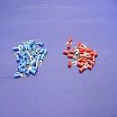 [A6882] Y 형 터미널 압착단자 청색 적색(50개)