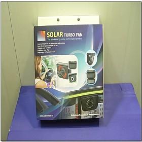 [A7508] 태양열 자동차 실내공기순환 환풍기 AUTO COOL 쏠라 분리형 A타입 박스제품