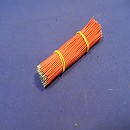 [A8737] 검정색 10cm LEAD WIRE 탈피 ±0.2mm / 5.0±0.2mm