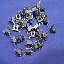 [A8784] SMD 타입(택리드높이3.5mm) 6mm x 6mm x 4mm 흑색 택트스위치(30개)