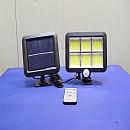 [B1600] 태양광 6구 120COB 센서등 투광기 정원등 가로등 보안등