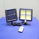 [B1601] 태양광 4구 128COB 센서등 투광기 정원등 가로등 보안등