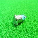 [B2977] 16mm 금속가공 LED 조광타입 잠김 푸쉬스위치(적,청,녹)